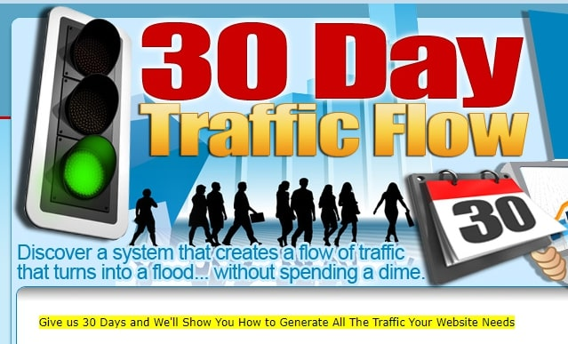 30 day traffic flow