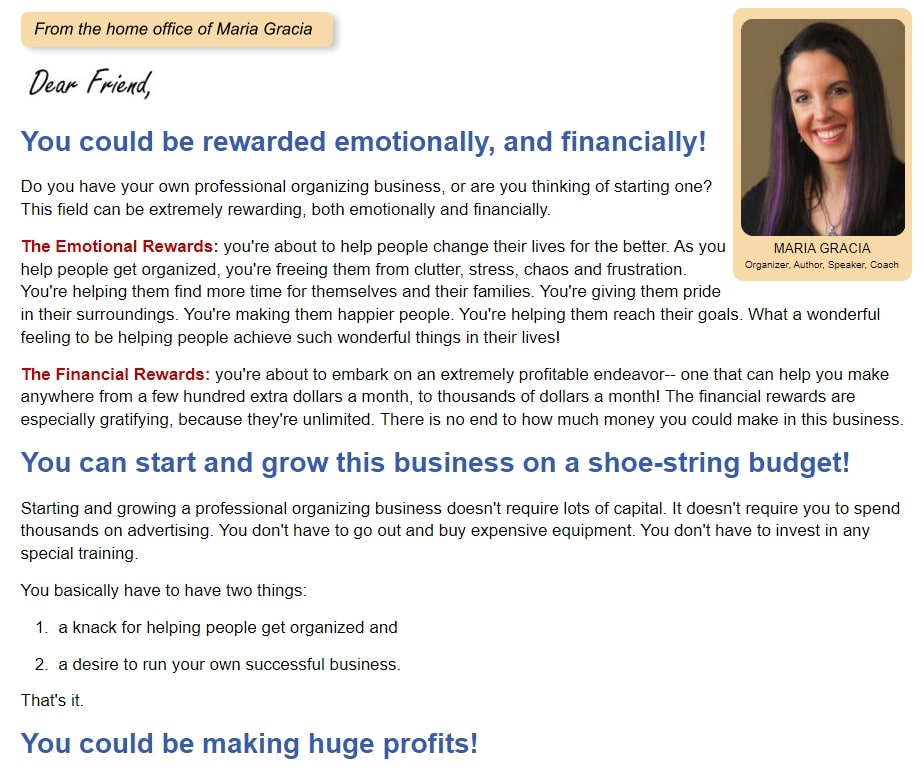 Get Organized Now Review! Organize Today Online