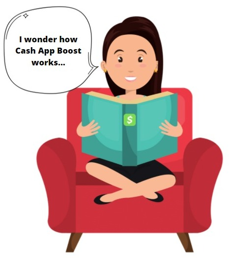 how does cash app boost work