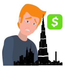 can you use cash app in dubai
