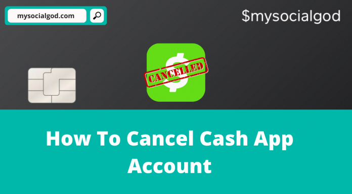 how to cancel cash app account