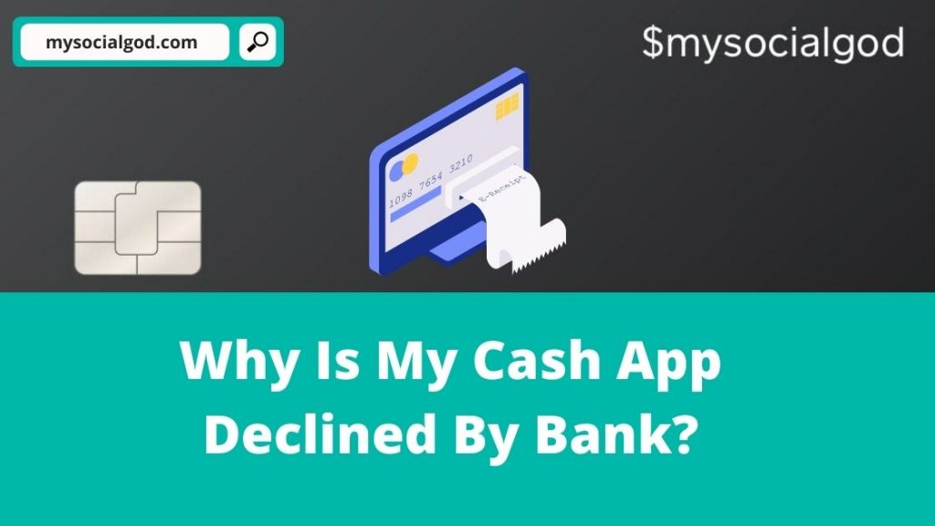 Cash App Declined By Bank