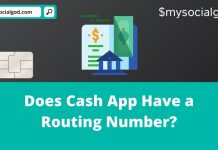 Does Cash App Have a Routing Number