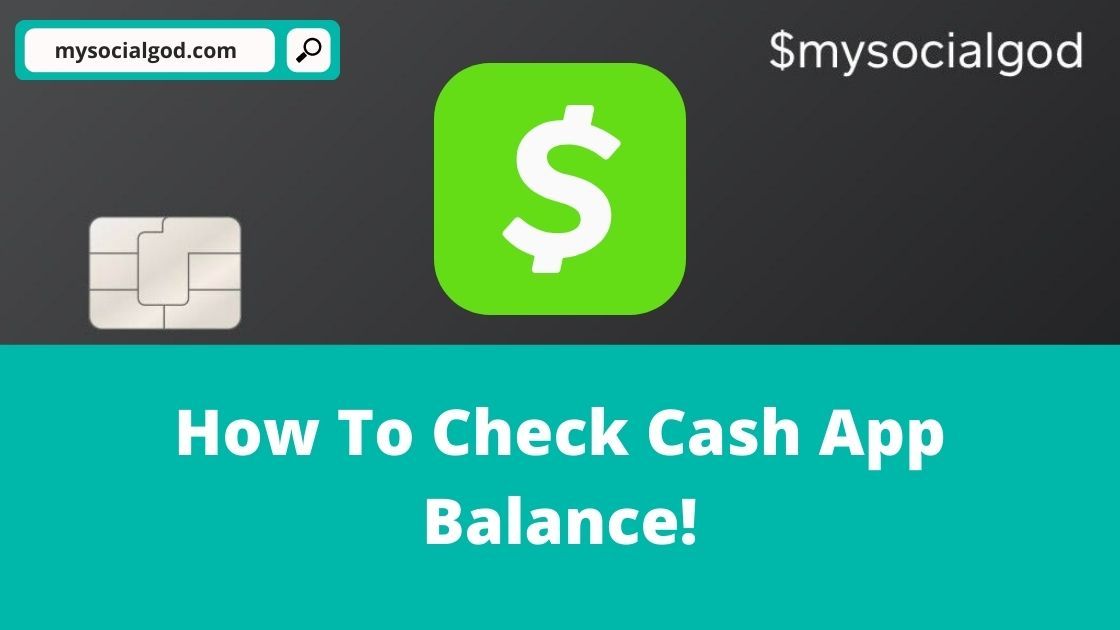 How To Check Cash App Balance: 4 Ways! (2021)
