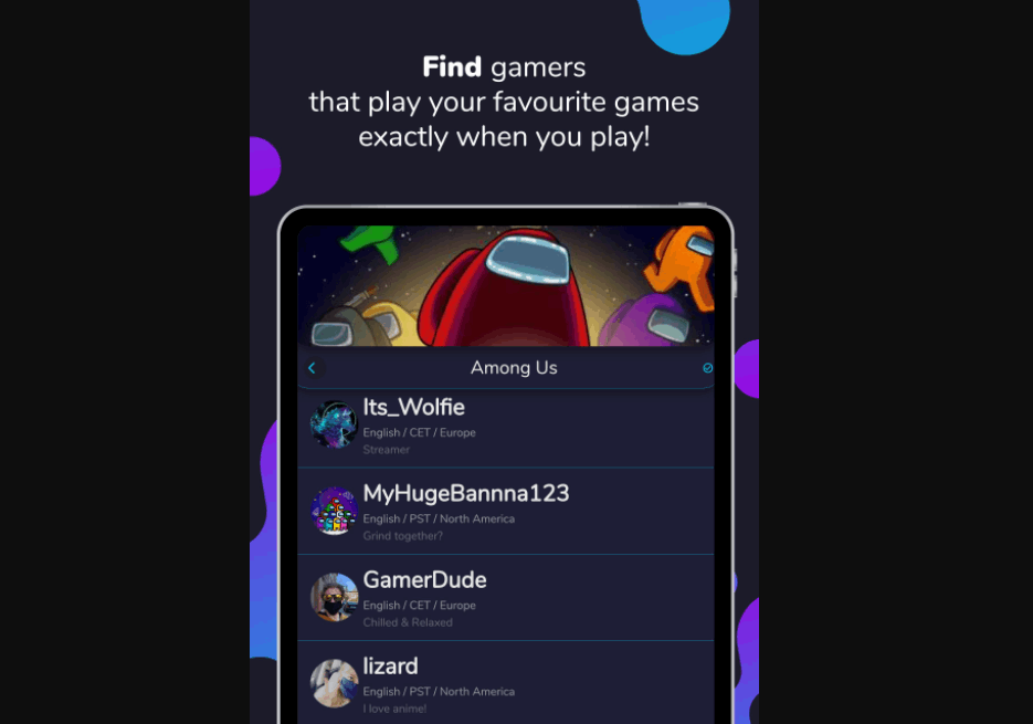 Noobly - Find Gamers And Meet Friends