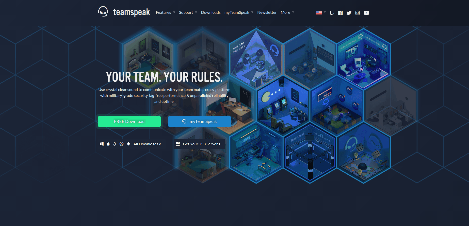 TeamSpeak 3 - Communicate Anywhere With This App