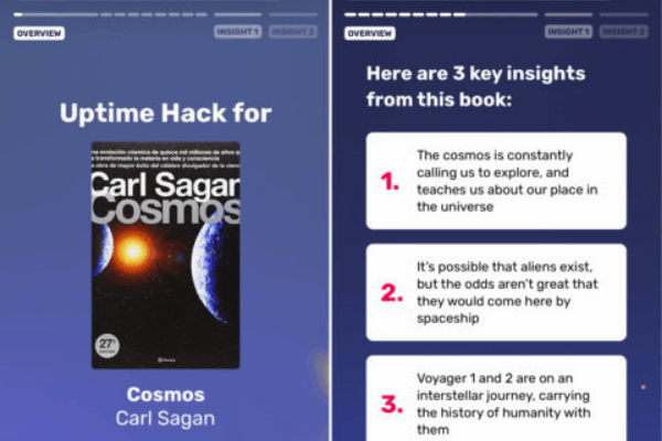 Uptime: The App with 5-Minute Knowledge Hacks