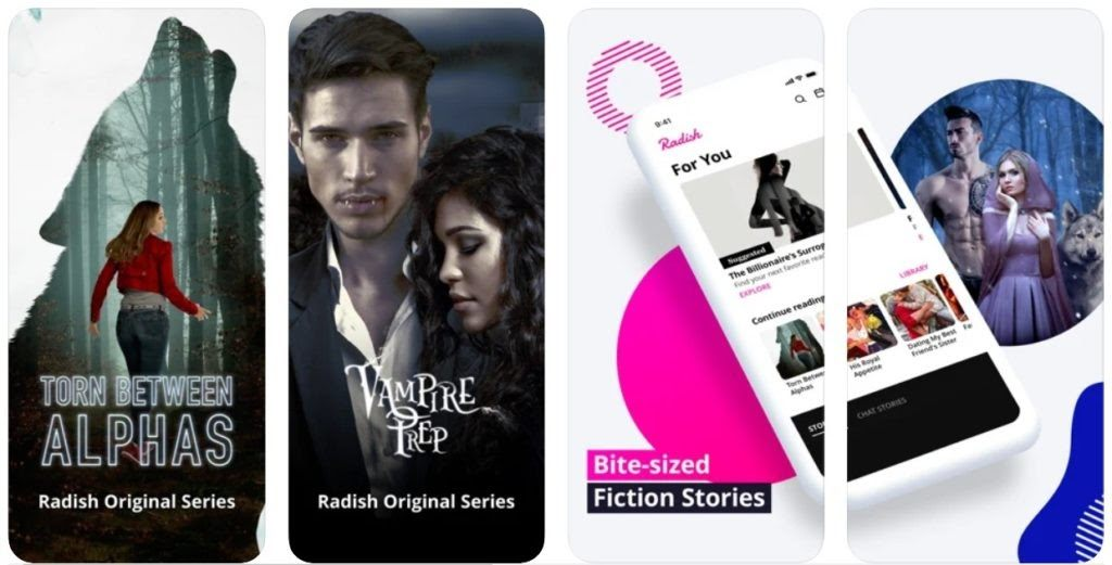 Radish Fiction App - See How to Download